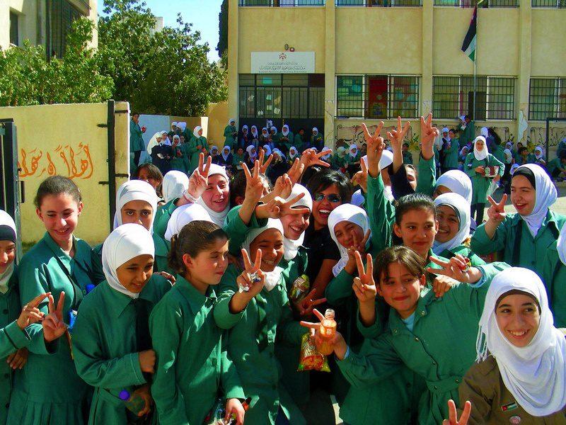 Madrasati school in Jordan