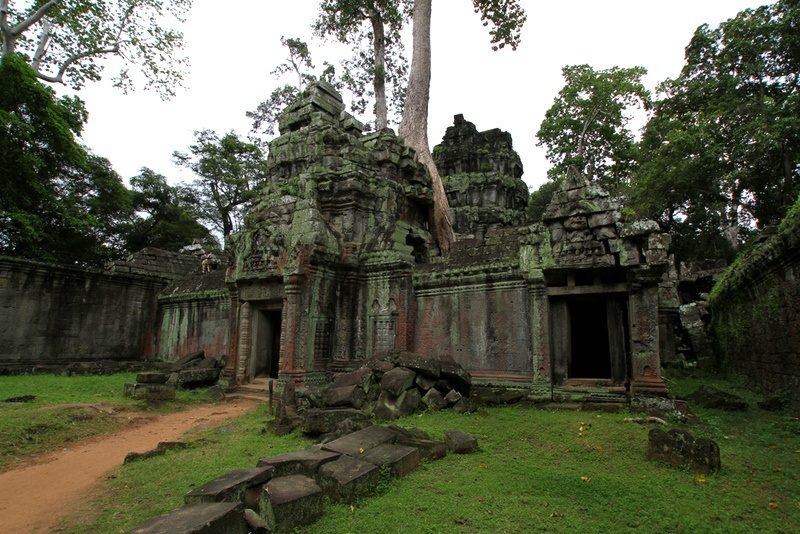 """Part of Angkor Wat temples, Cambodia, used in """"Tomb Raider."""""""