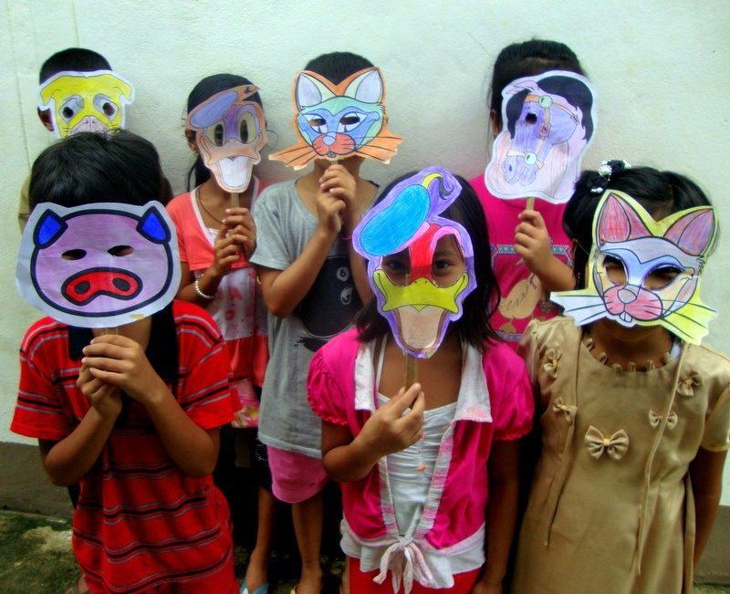 Mask crafts Thailand