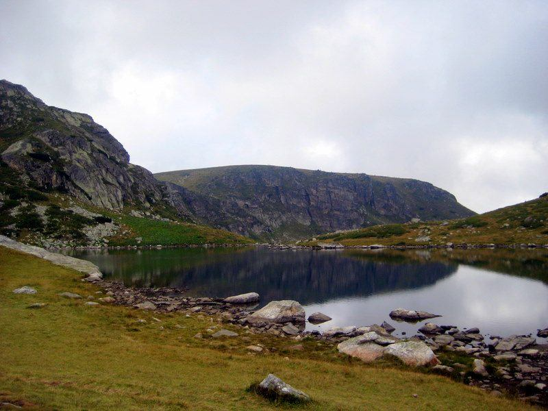 Seven Lakes national park in the Rila Mountains