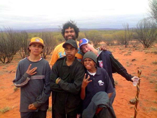 Working in an Aboriginal community in rural Australia.