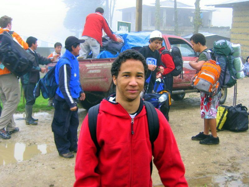 Coming home from the mountain in Chota, Peru took 3 days!