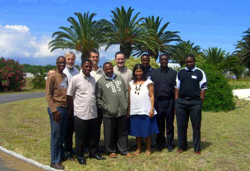 Bill's Class of World Changers in South Africa.