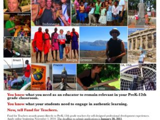 Boston Fund for Teachers Recruitment Poster