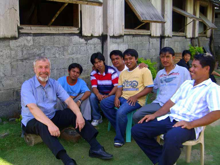 teaching in the Philippines.