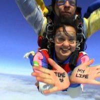 Rease skydiving in Cordoba, Argentina!