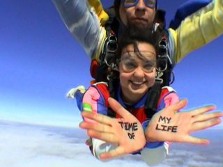 Rease skydiving in Cordoba, Argentina!