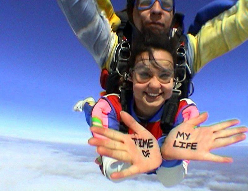 skydiving in Cordoba, Argentina!