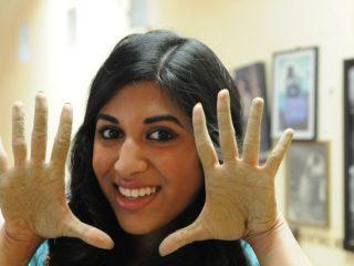 Vijaya, as photographed by Cooper Bates.