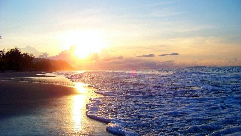 A perk of of living in Central America: beaches like Triunfo de la Cruz, Honduras.