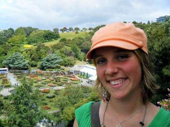 In lush, green Wellington, New Zealand in 2009.