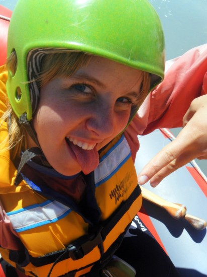 Whitewater rafting in New Zealand in 2009!