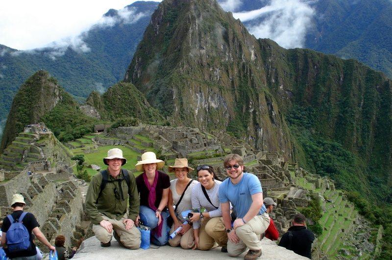 With Penn State friends at the Incan Ruins of Macchu Pichu, Peru!
