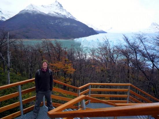 Perito Moreno Glacier in Patagonia, one of Tom's favorite places!