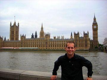 During the Duke Program in London.