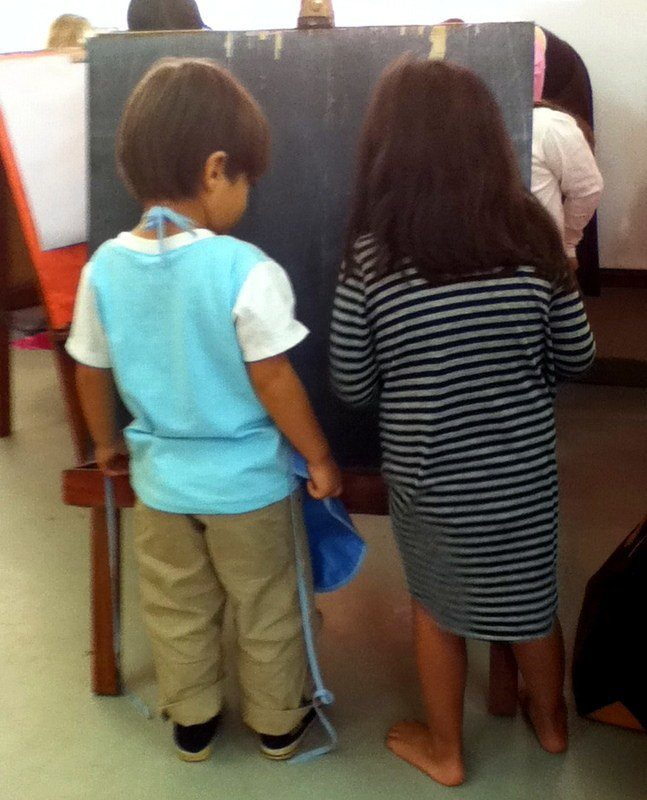 Sweet youngsters in Candice's class in Laos.