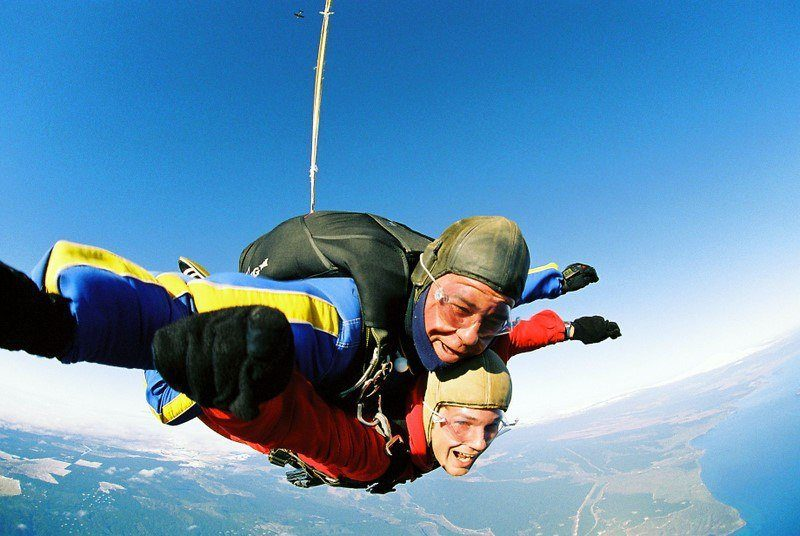 Skydiving in New Zealand!