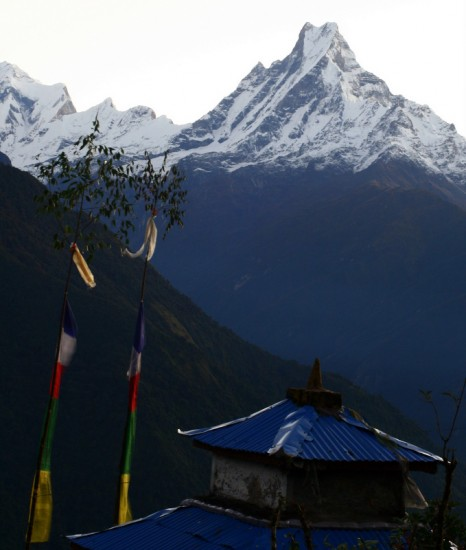 Trekking and teaching, together at last, in Nepal.