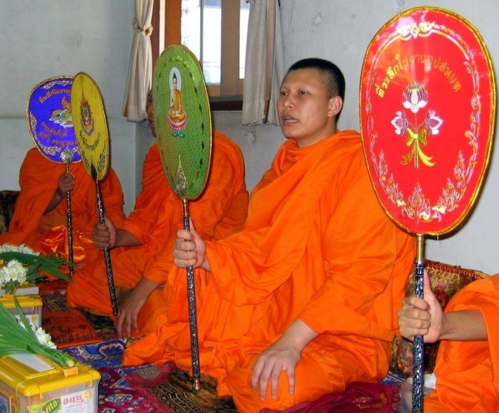 The Monk Lunch in Thailand that launched Alisha's travels!