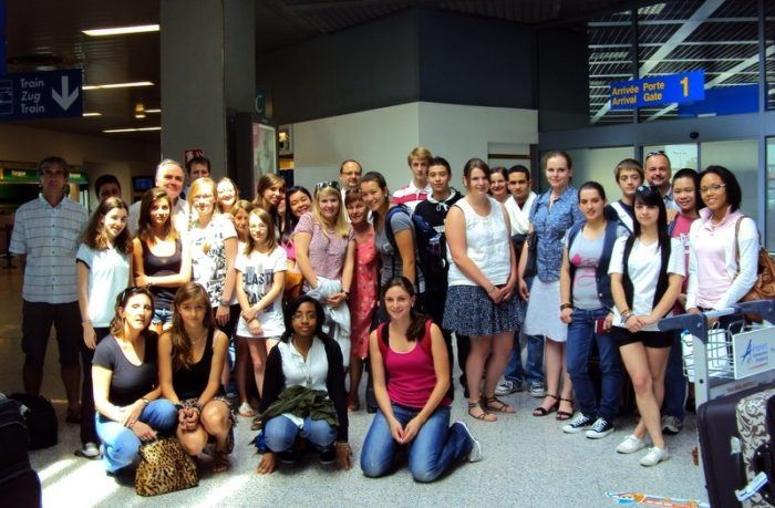 The student group in Strasbourg, France!