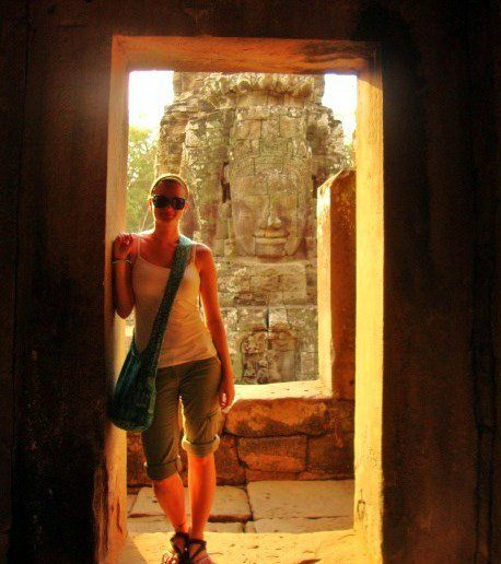 Temple-hopping in Siem Reap, Cambodia... possibly Lisa's favorite place in the whole world.
