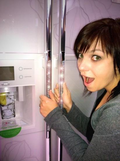 A dazzling Dubai refrigerator!