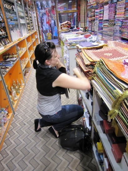 Kristy, Mastering Haggling in Dubai Souqs.