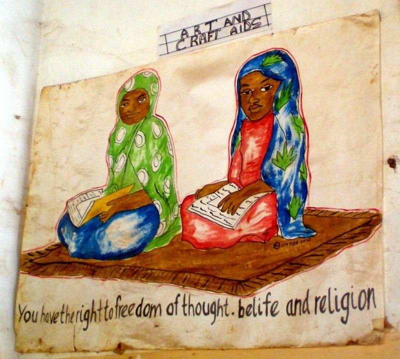 Three freedoms in Tanzania: Thought, Belief, and Religion.
