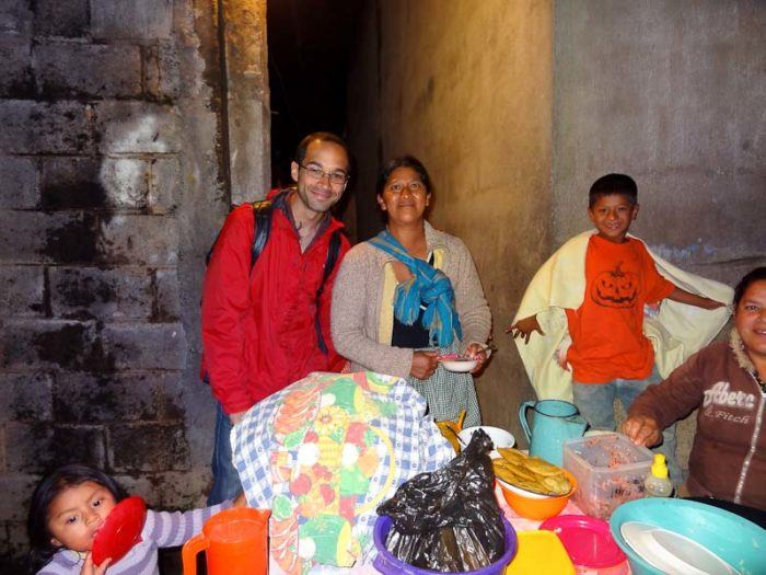 The best streetfood experience of Adam's life: Guatemala.