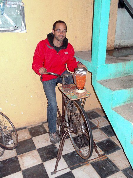 Volunteering at Maya Pedal in Guatemala.