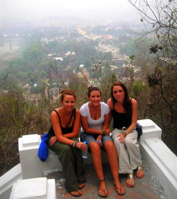 With friend during travel in lovely Laos.