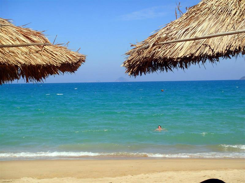 A beach in beautiful Nha Trang, Vietnam.