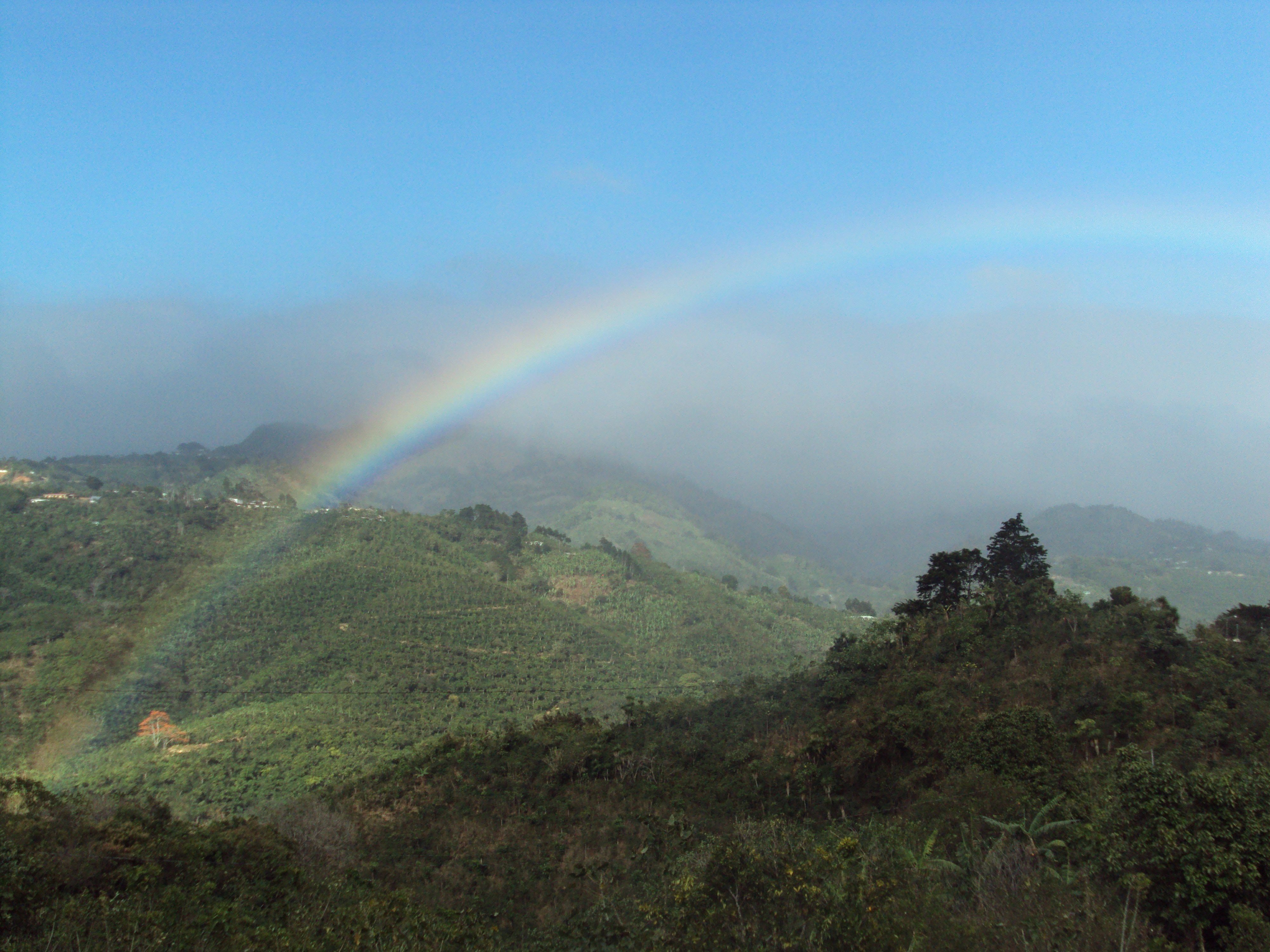 One of the many beautiful mountain views in Costa Rica.