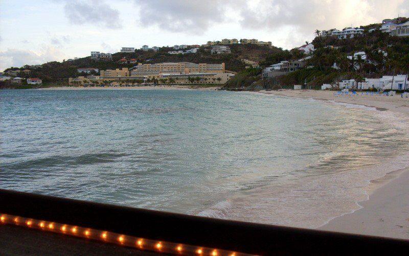What a lovely beach in St. Maarten.