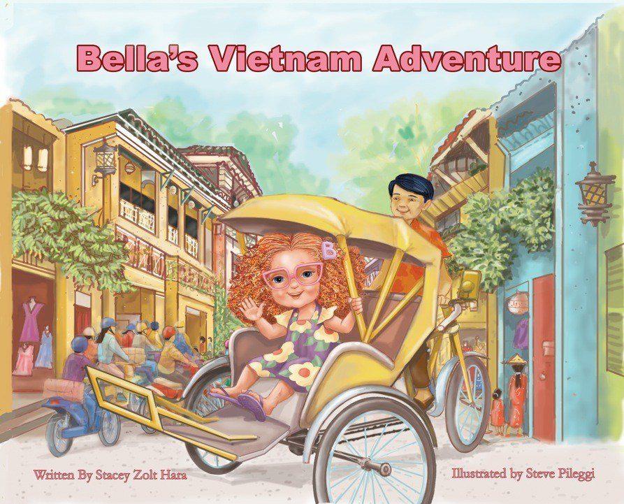 The cover to Bella's Vietnam Adventure.