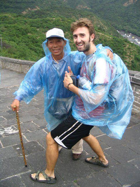 Fun (wet!) hiking in China!