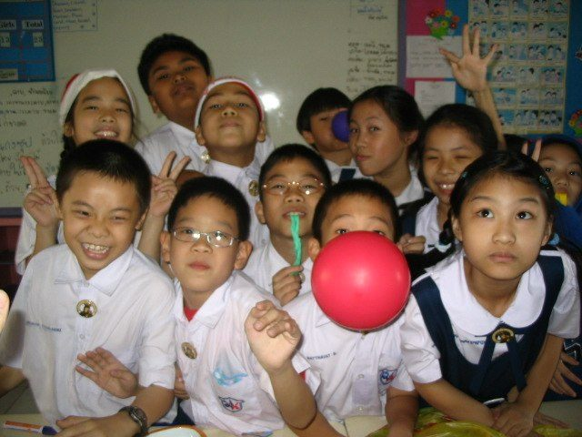 Baz's favorite class from his time teaching in Asia.