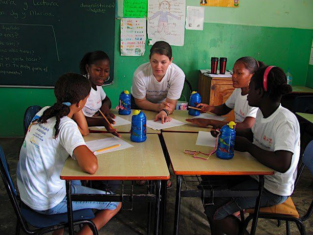 This could be you! Apply to volunteer teach in the DR this summer!