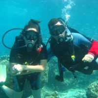 Lisa was proposed to underwater in Thailand!