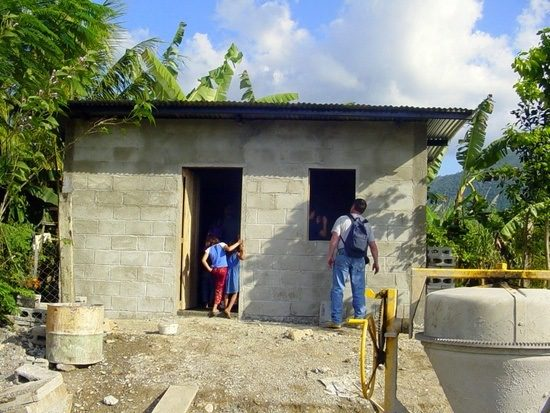 A Honduras home, after Tim's mission work has finished.