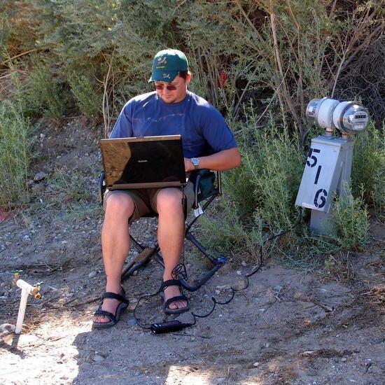 teaching online digital nomad