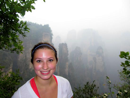 Zhangjiajie National Forest Park in Hunan China. The inspiration for the floating mountains in Avatar.