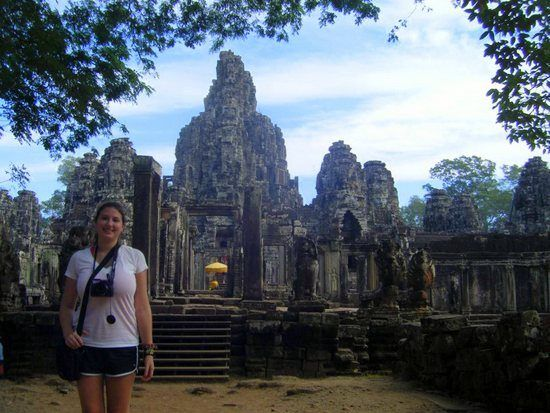 Bayon Temple in Siem Reap, Cambodia: Temple of Faces.