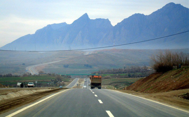 Abraham Lincoln Profile Mountain in Northern Iraq. Will YOUR road lead you to Iraq like Gretchen?