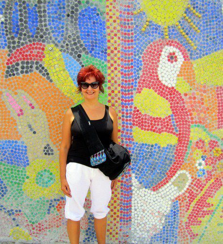 Jill's life has been as colorful as this mosaic!