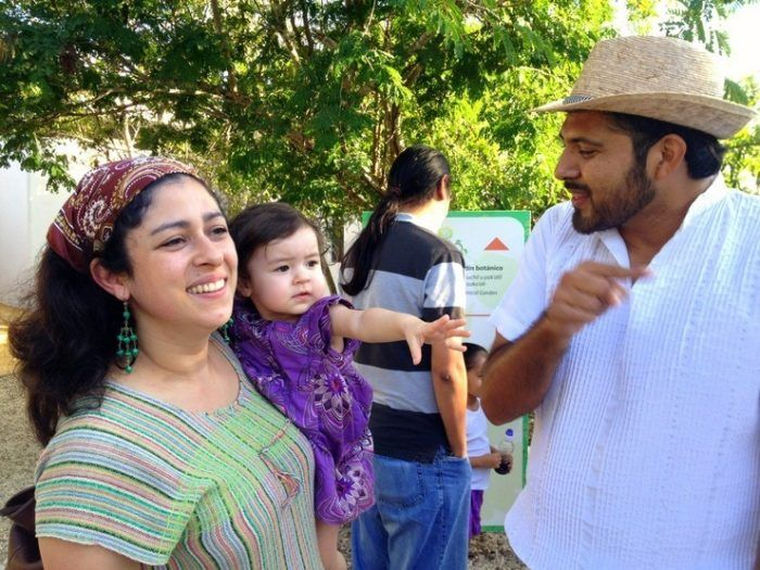 Maria del Mar and Sandra, Kurt's Wife and Daughter in Merida, Mexico. So beautiful!