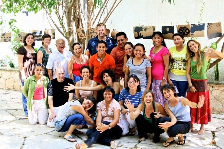Habla Mexico arts and literacy workshop for teachers