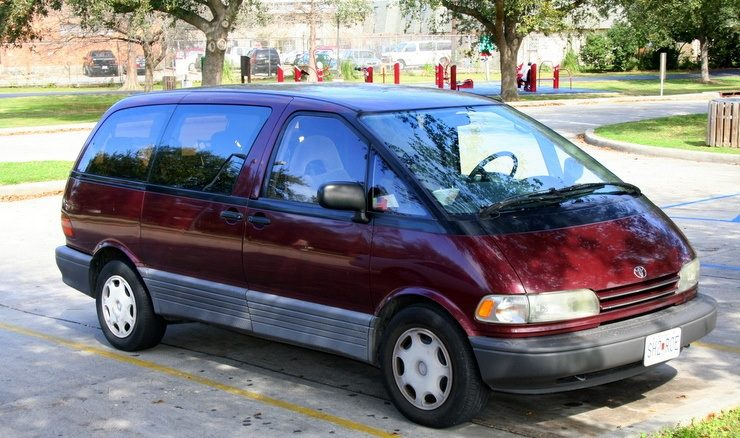 The van that Ryan lived and traveled in for five months across the American Southwest!
