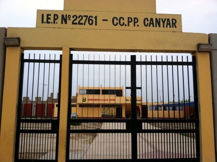 The Canyar School in Peru.