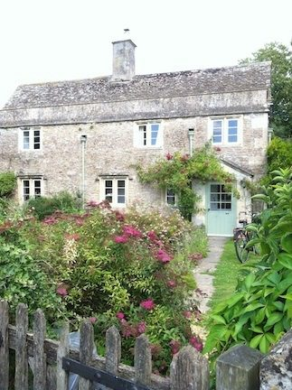 The house in Lacock, England which supposedly was Harry Potter's house in the movies!